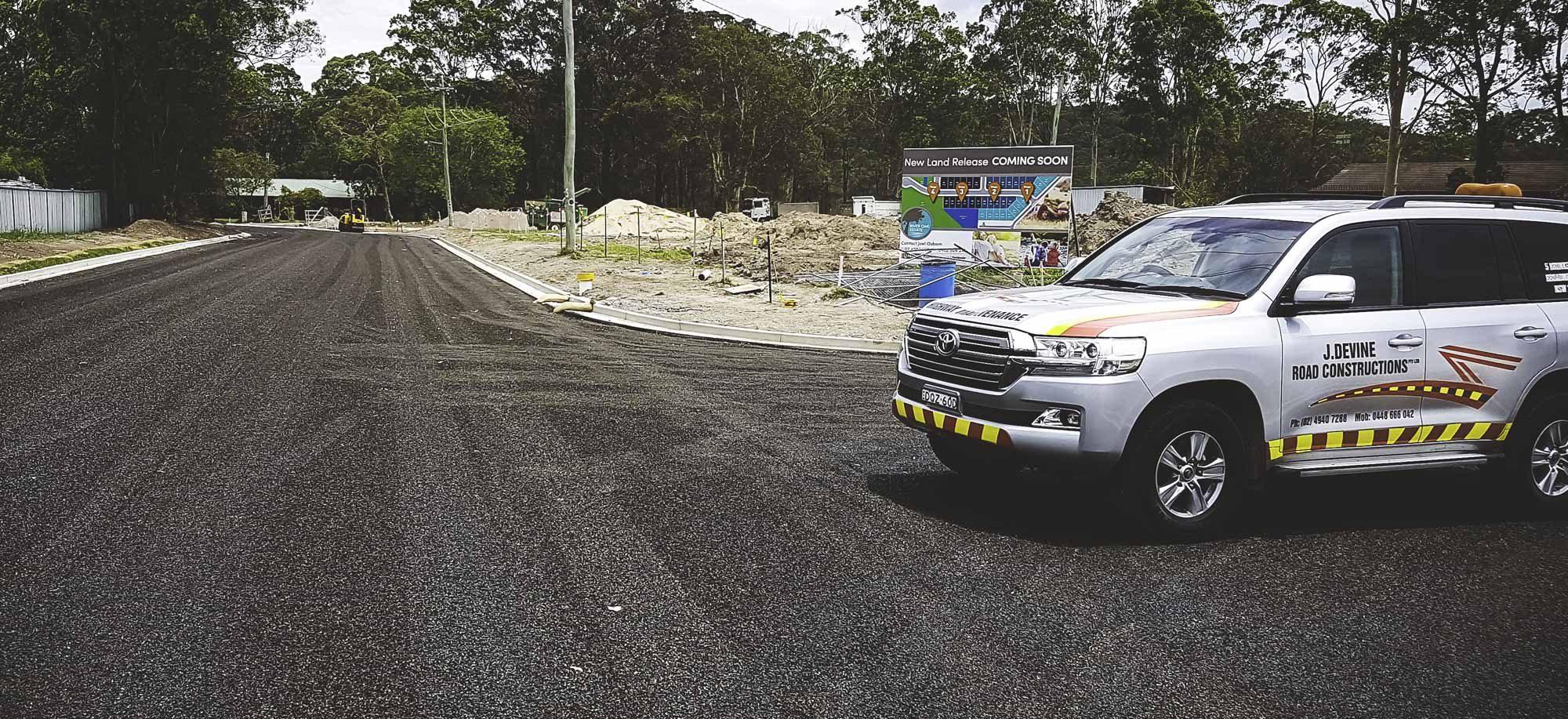 J. Devine Road Constructions
