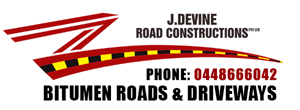 J Devine Road Constructions - Bitumen Roads Driveways Newcastle NSW Australia