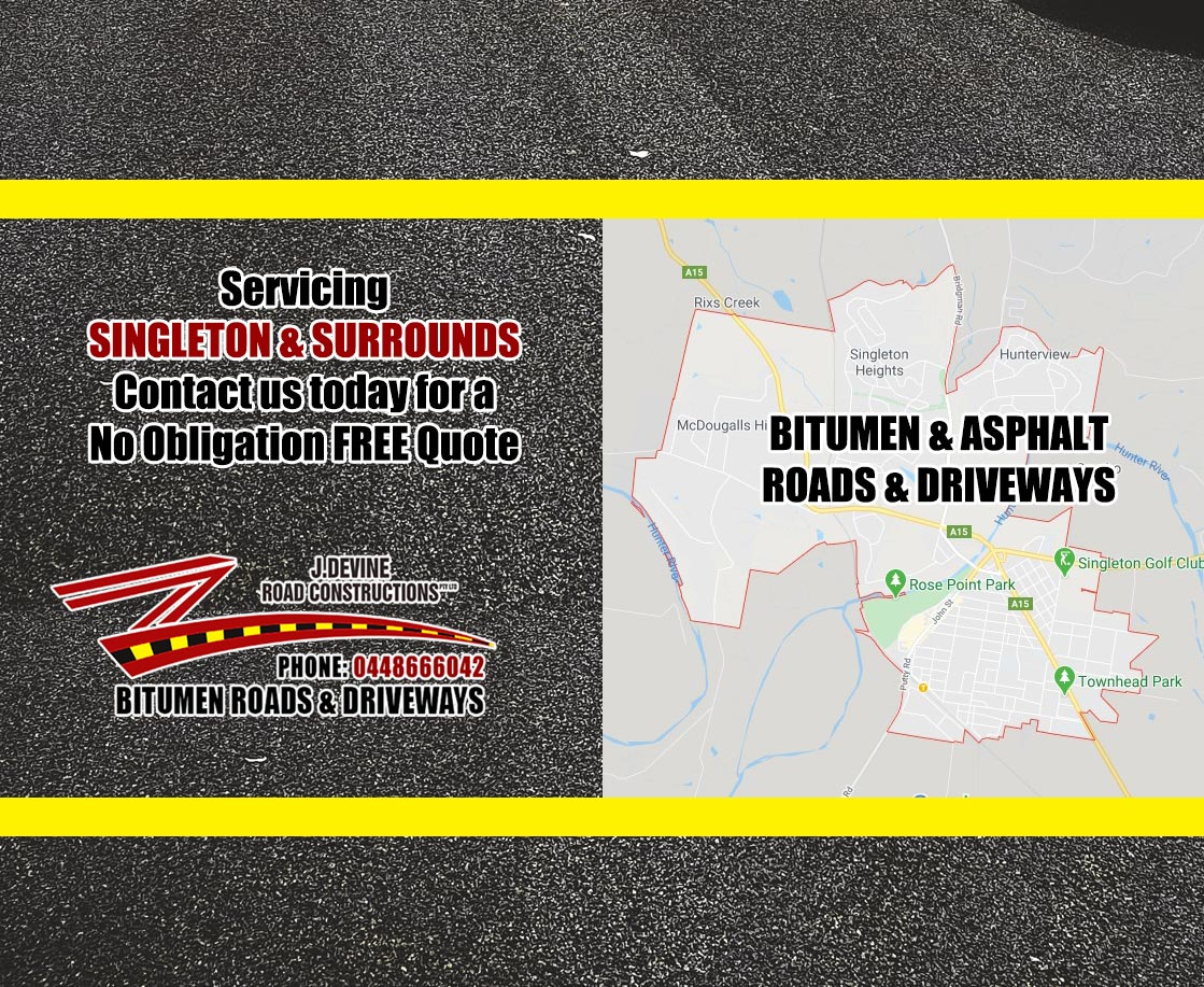 Singleton Bitumen Roads & Driveways
