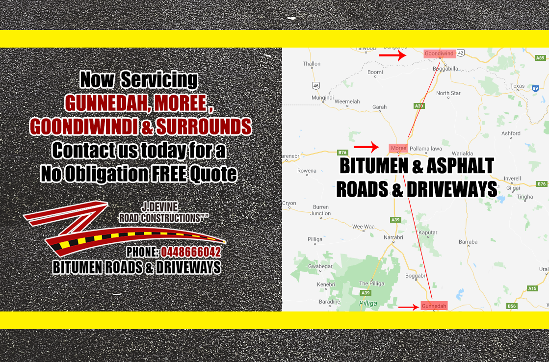 Gunnedah, Moree & Goondiwindi Bitumen & Asphalt Services